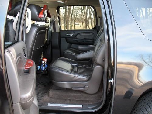 Executive SUV inside